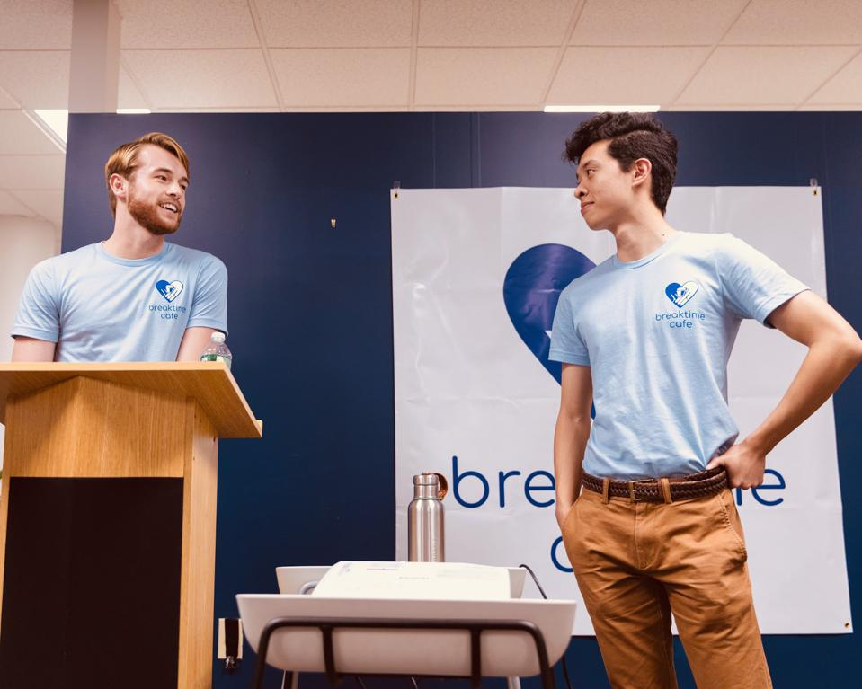 Teaming up with community partners, Breaktime cofounders Connor Schoen and Tony Shu are aiming to double the impact of their transitional employment program for young adults experiencing homelessness.